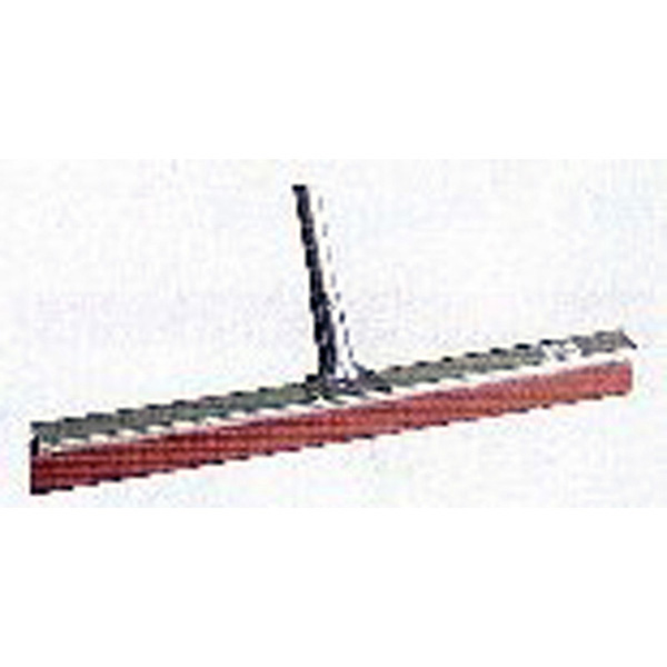 Aluminium Squeegee Red Rubber with aluminium handle & stays
