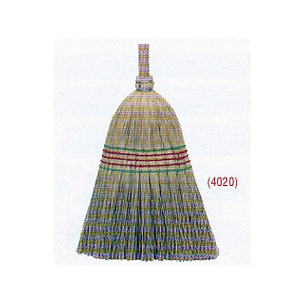 5 Tie Hand Made Millet Broom