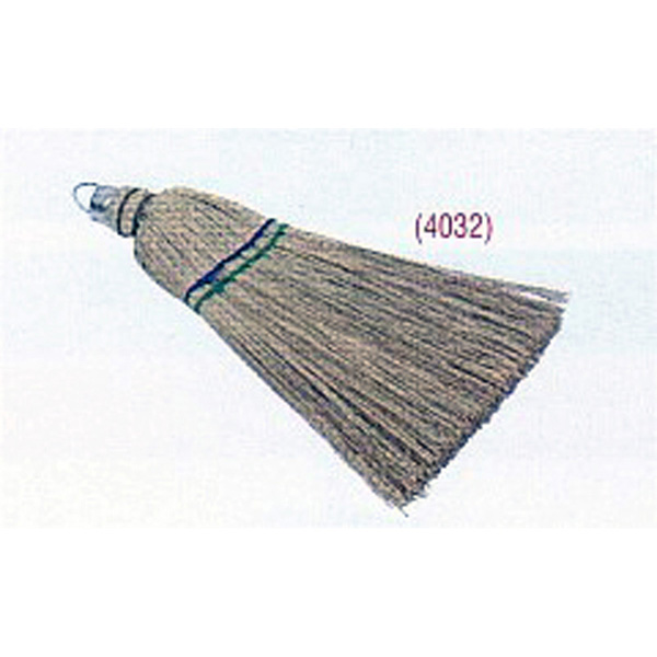 8 Tie Hand Made Millet Broom
