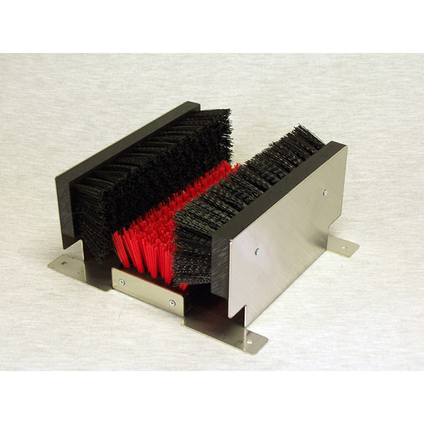 Stainless Steel Frame Boot Cleaning Brush