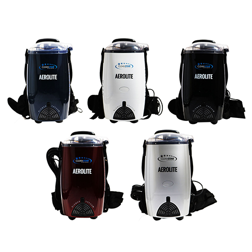 Aerolite Back Pack Vacuum Cleaner - Hepa Filtration - 5 Colours