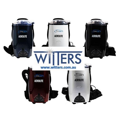 Aerolite Back Pack Vacuum Cleaner - Hepa Filtration - 5 Colours