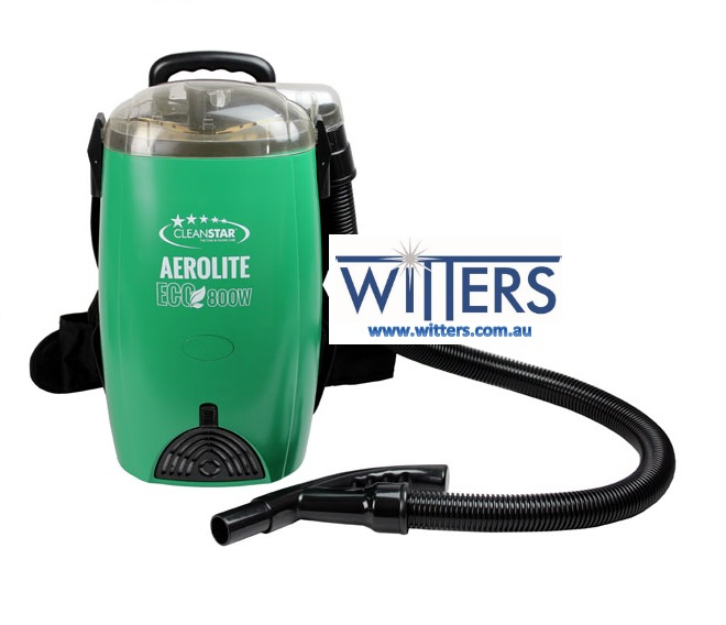 Aerolite Green Eco Backpack Vacuum Cleaner