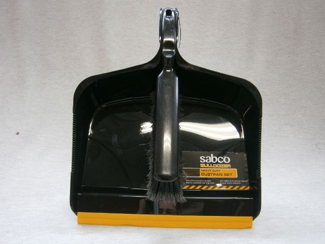 Heavy Duty Dustpan & Brush Set - Bulldozer
