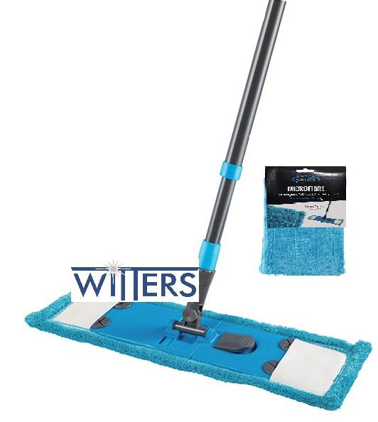 MicroFibre Tab Lock Flat Mop