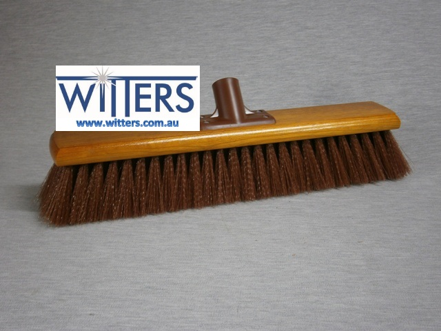Synthetic Hard Centre Broom - Economy