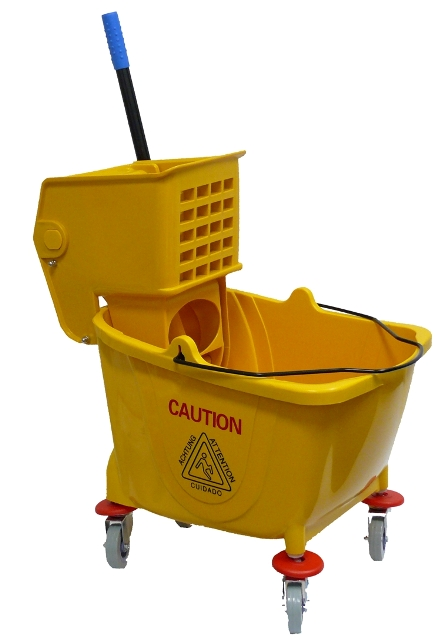 30lt Trolley & Bucket  with castors