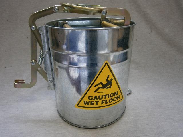16lt Metal Mop Bucket