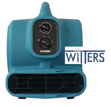 Mini Air Mover 1/4 HP - 175W - 0.75A - Stackable