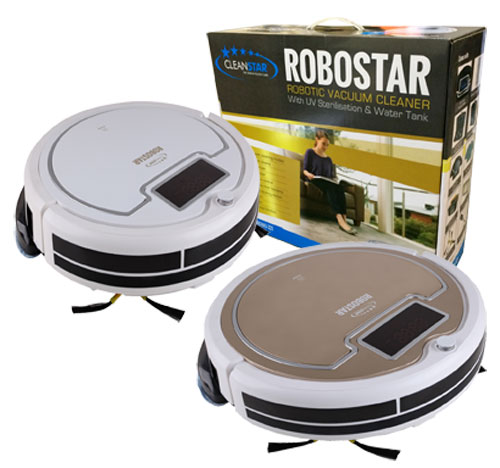 4 in 1 - Robotic Vac - VROBO320 - Four working modes - Sweep, Vacuum, Mop, Sterilise