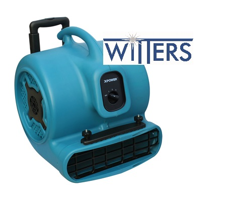 Multipurpose Air Mover w/wheel & Luggage Handle - 1HP - 700W - 3.0A - Stackable
