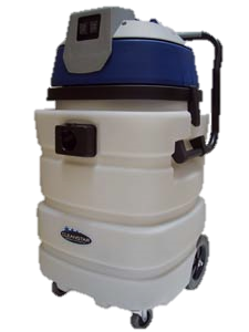 Commercial 90ltr Wet & Dry Machine - 3000watt - 3 motors