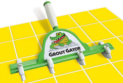 Grout Gator - Grout Cleaning Brush and Accessories