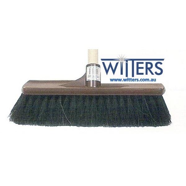 Hair & Fibre Plastic Backed Broom