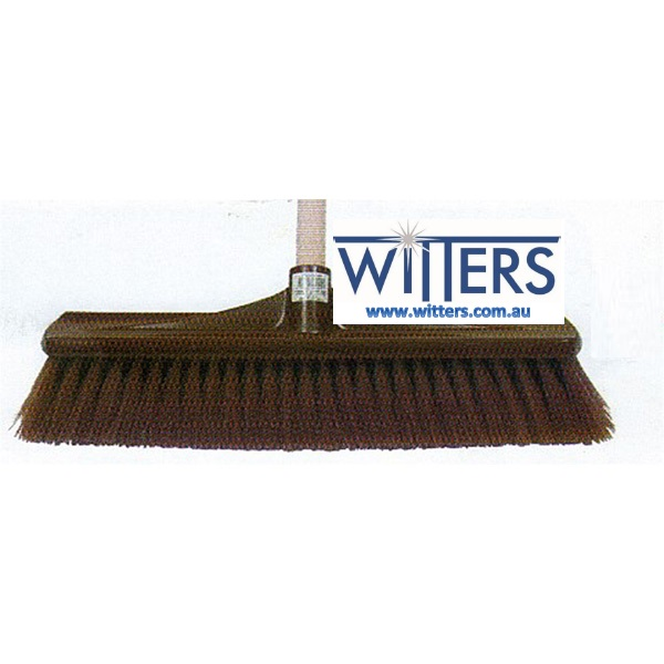 Synthetic Hard Centre Plastic Back Broom
