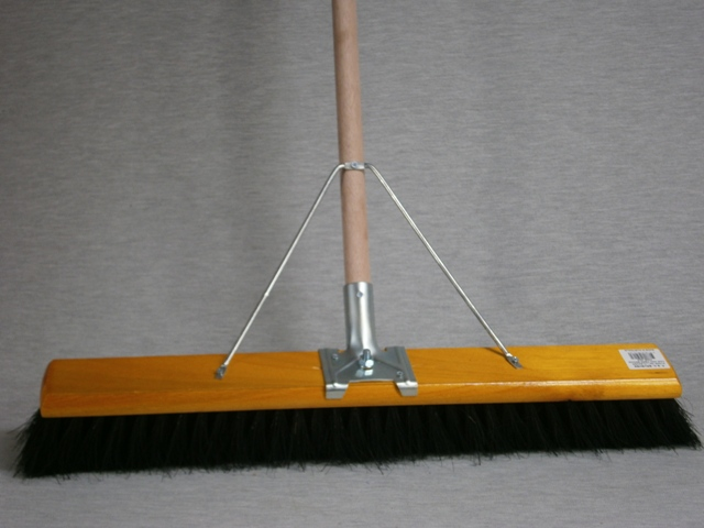 Hair & Fibre Broom Premium complete with handle