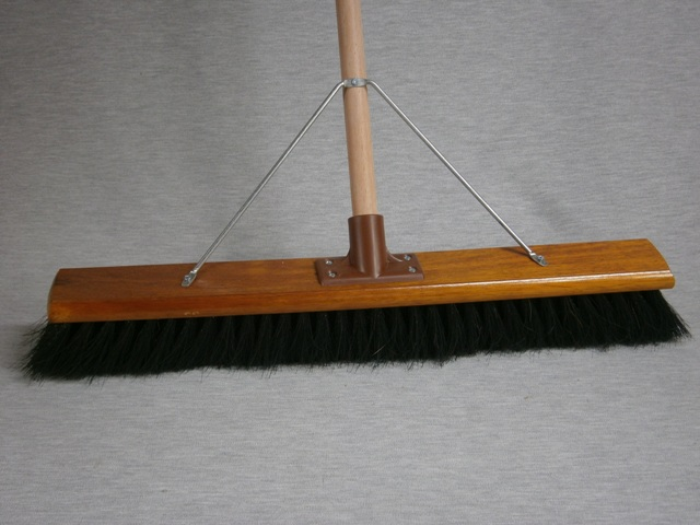 Hair & Fibre Broom Economy complete with handle