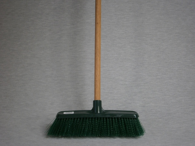 300mm Poly Garden Broom