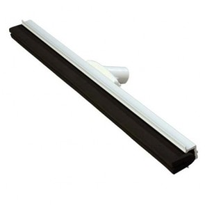 610mm Aluminium Squeegee Black Neoprene Double Blade with Aluminium Handle