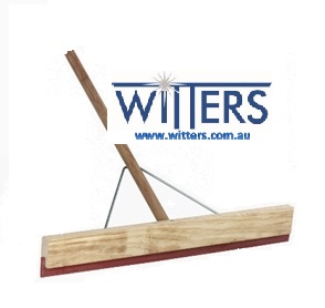 Timber Squeegee Red Rubber