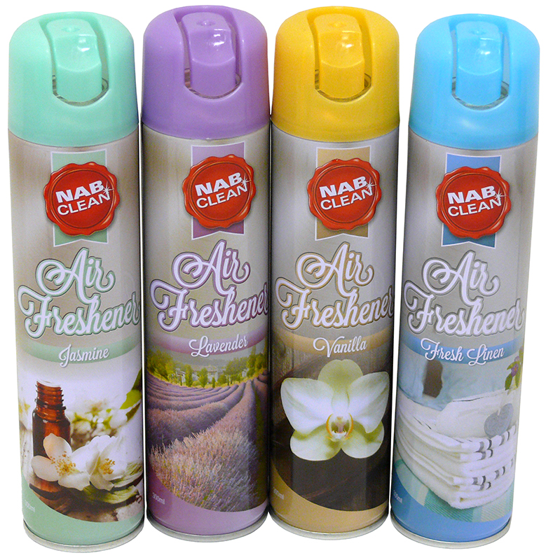 Air Freshener - Multibuy 4 x 300ml cans