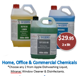 January 2020 Special Offer - 2 Chemicals for $29.95