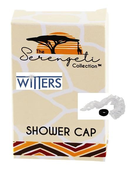 Shower Cap & Hair Tie - Serengeti Collection