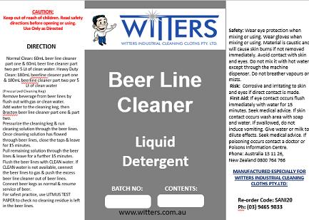 Beer Line Cleaner