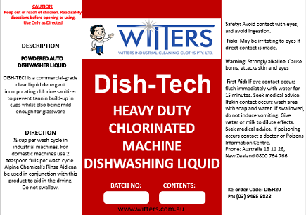 Dishtek Automatic Dishwashing Machine Liquid