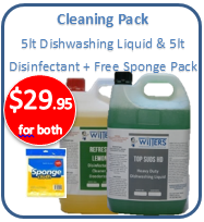Cleaning Pack - Dishwashing Liquid & Disinfectant