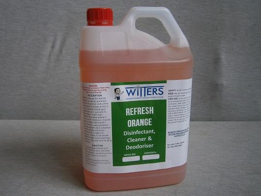 Refresh - Orange Disinfectant - Deoderiser and Sanitiser