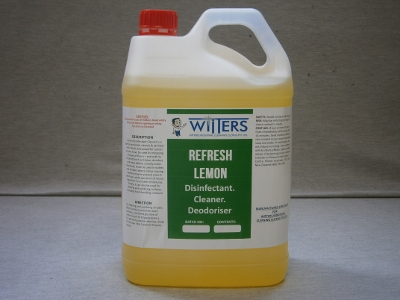 Refresh - Lemon Disinfectant - Deoderiser and Sanitiser
