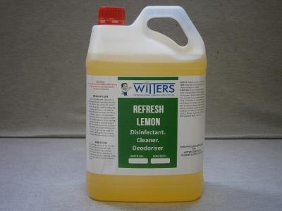 Refresh - Lemon Disinfectant - Deoderiser and Sanitiser