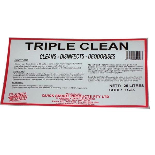 Triple Clean