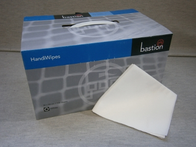 Bastion Handi Wipes in a Carry Box