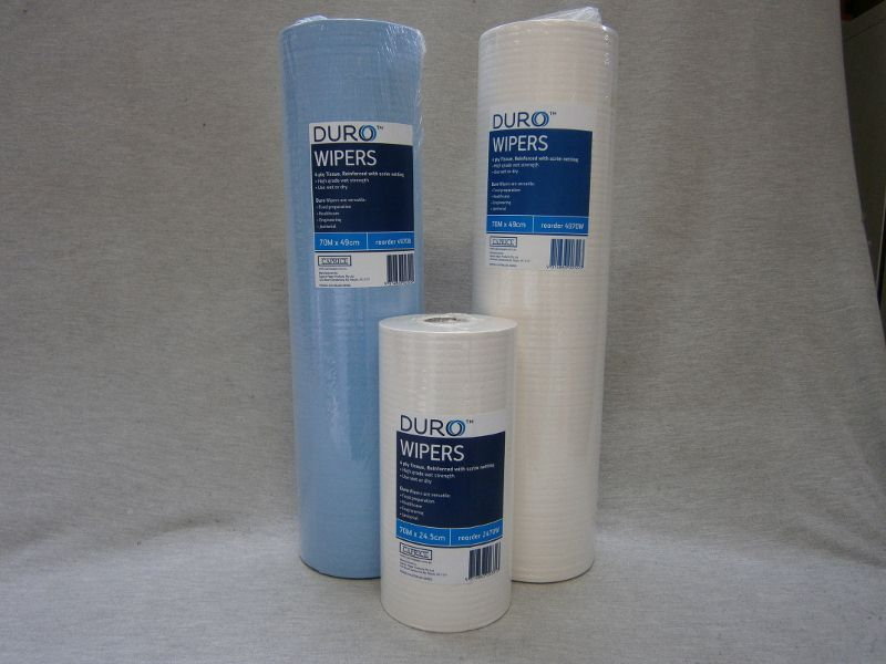 Duro Wipers - 4Ply with Scrim Netting Towelling