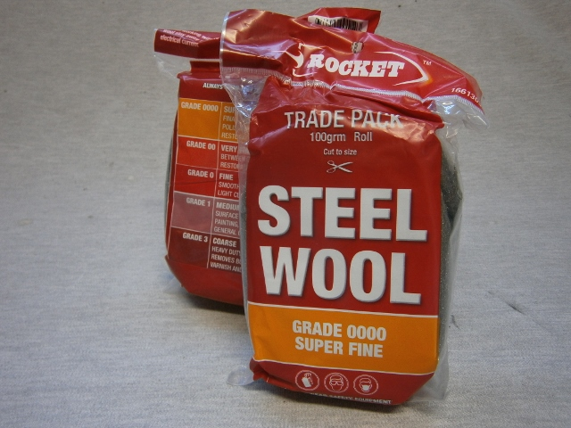 Steel Wool - Trade Pack 100gram - Grade00