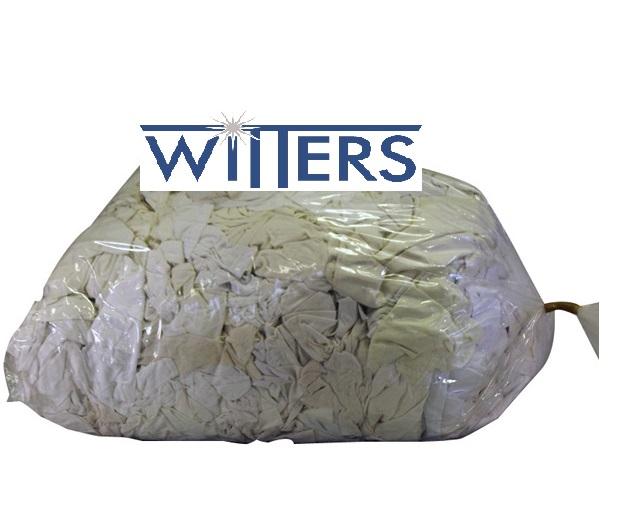 White Cotton Wipers - CC31