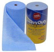 Heavy Duty Wipers - Roll 30cm x 45m
