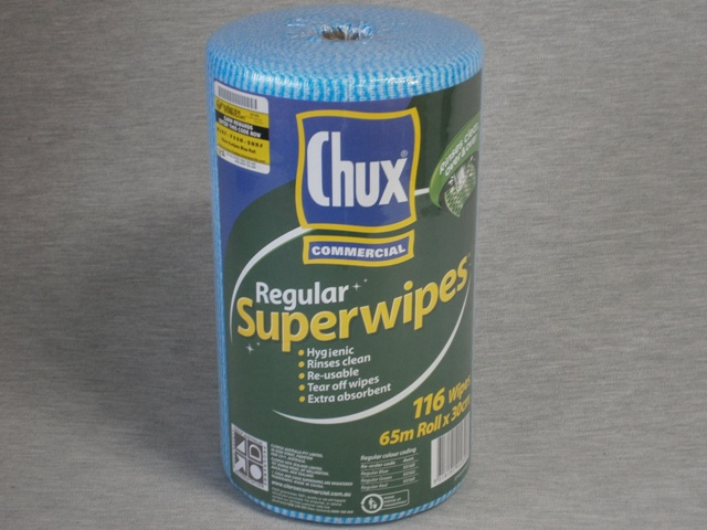 Chux 9316 Superwipes 30cm x 65m perforated