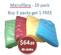 Micro Fibre Cloth Economy 10 pack