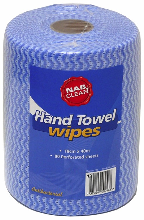 Hand Towel Wipers 18cm x 40m
