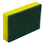 Green & Yellow Sponge/Scourer - Medium 15cm x 10cm