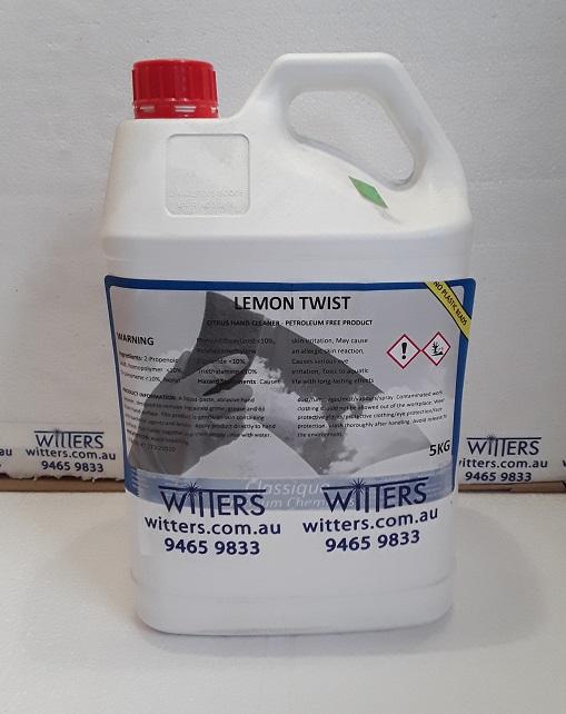 Lemon Twist Hand Cleaner