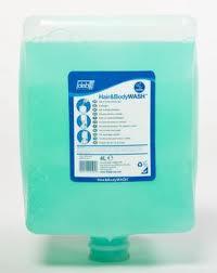 Deb Suprega Blue Hair & Body Wash Bladder - 4lt