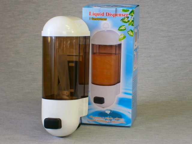 Plastic Soap Dispenser - 600ml Wall Mount