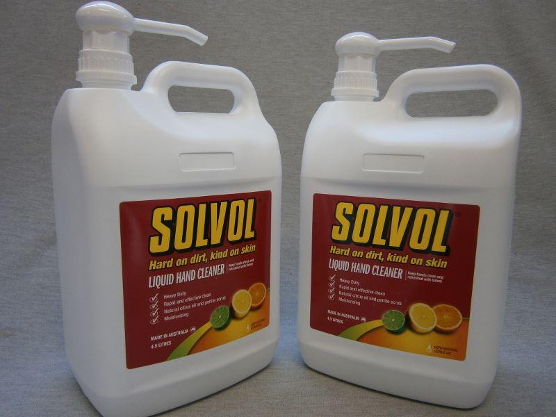 Solvol Soap Bars & Liquid