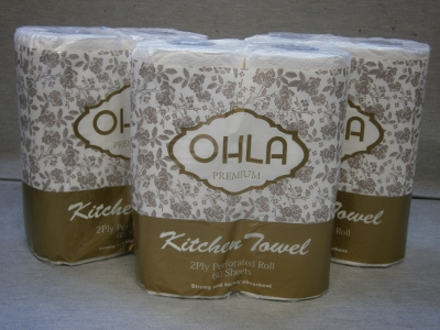 Kitchen Roll Towels - Ohla 24 rolls