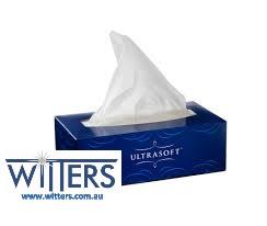 Ultrasoft Facial Tissues 2 ply 24 pkts x 200 sheet