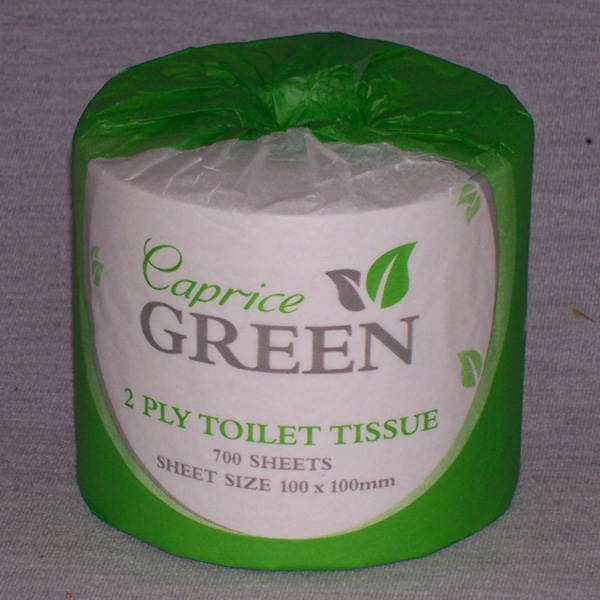 Toilet Paper 700 sheet 2 ply - Green